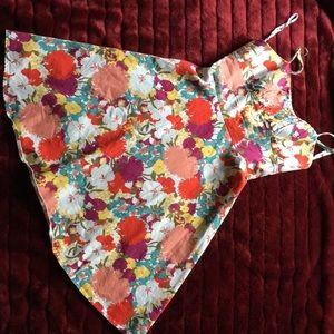 APNY floral sundress. Size 8. VGUC cotton/spandex